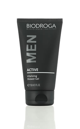 Biodroga Men - Active Vitalizing Shower Gel - 150 ml