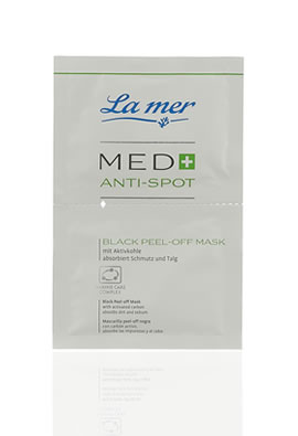 La mer MED+ Anti-Spot Black Peel-Off Mask 2x 7,5 ml