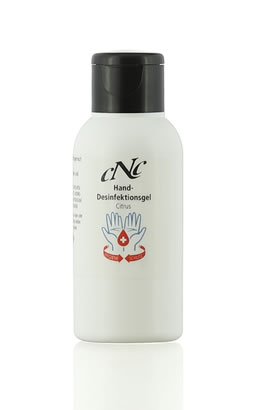 CNC Cosmetic Hand disinfection gel Citrus