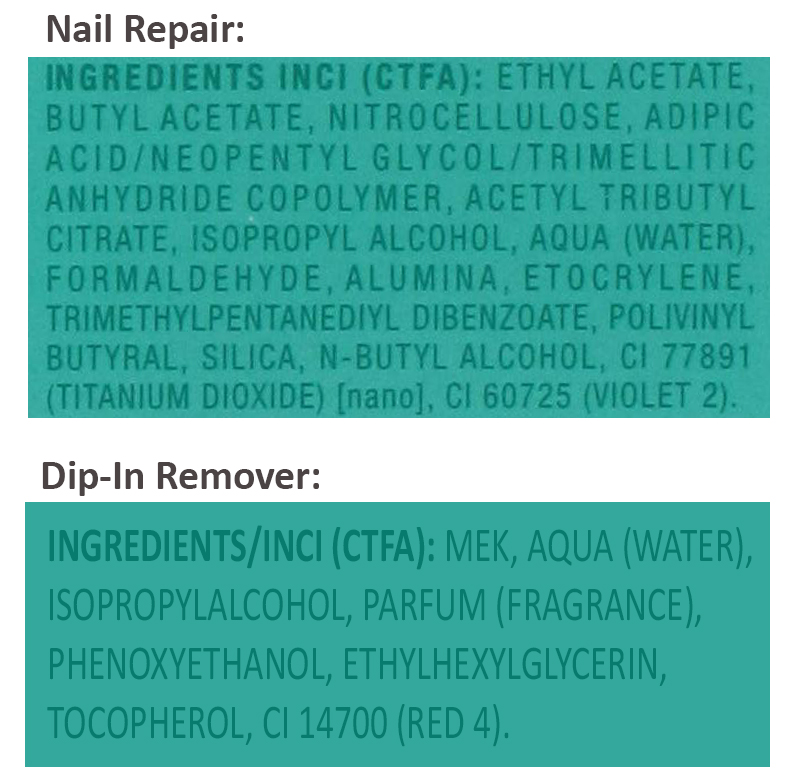 micro cell nail repair 12 ml dip in remover 60 ml. Black Bedroom Furniture Sets. Home Design Ideas